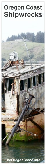 Oregon Coast Shipwrecks