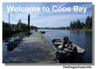 Coos Bay on the Oregon Coast