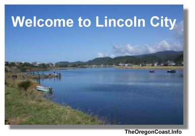 Lincoln City on the Oregon Coast