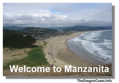 Manzanita on the Oregon Coast