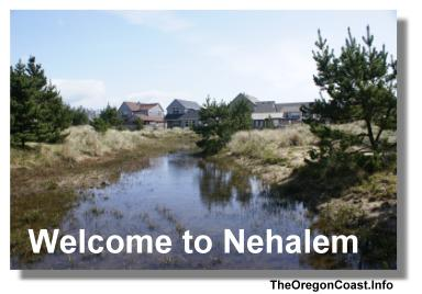 Nehalem on the Oregon Coast