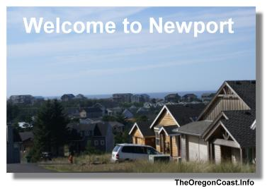 Newport on the Oregon Coast