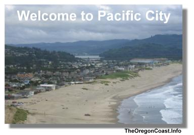 Pacific City on the Oregon Coast