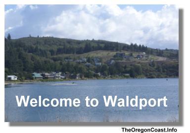 Waldport on the Oregon Coast