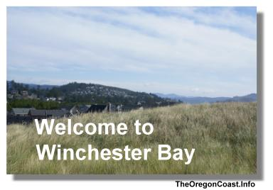 Winchester Bay on the Oregon Coast