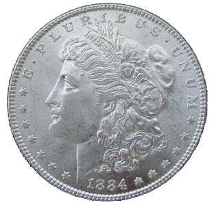 Picture of a Silver Dollar