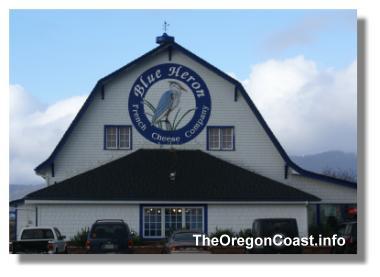 Blue Heron Building in Tillamook, Oregon